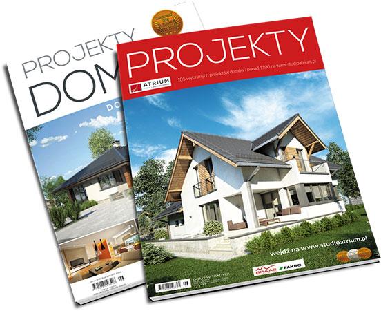 Bezpłatny katalog projektów Studio Atrium