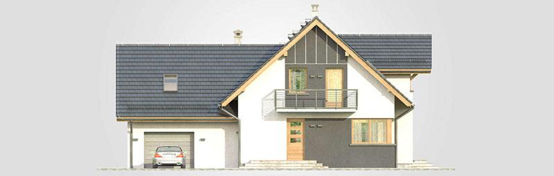 Nowości projektowe - projekt domu Amarylis