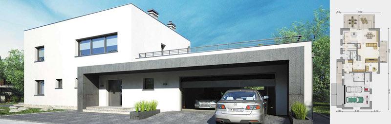 Nowości projektowe - projekt domu Senator IV