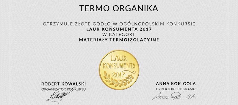 Termo Organika nr 1 wśród producentów materiałów izolacyjnych