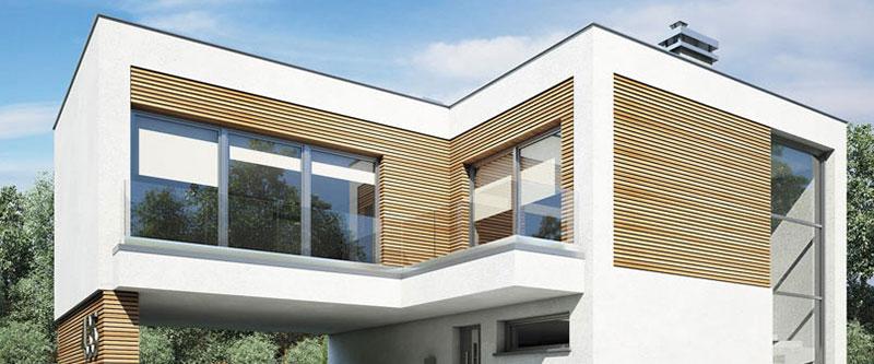 Elewacja budynku – materiał dekoracyjny czy może tynk?