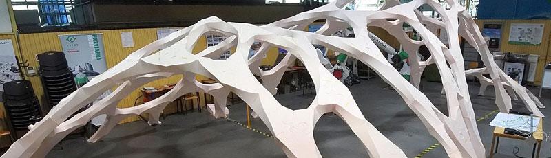 Architektoniczna konstrukcja przyszłości