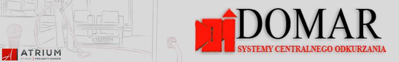 Schematy centralnego odkurzacza w projektach domów Studia Atrium