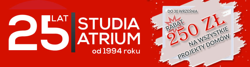 Promocja na 25 lat Studia Atrium