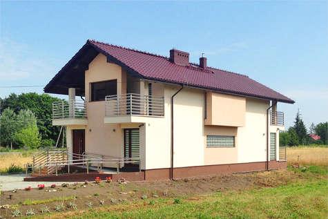 Projekt domu Garda II - realizacja