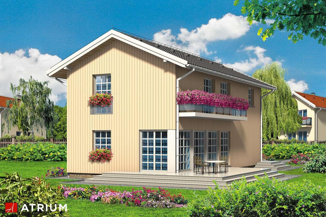 Projekty domów - Projekt domu piętrowego FORTE - wizualizacja 2