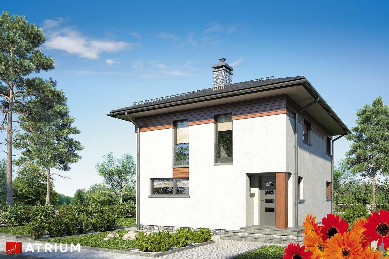 Projekty domów - Projekt domu piętrowego MILANO IV - wizualizacja 1