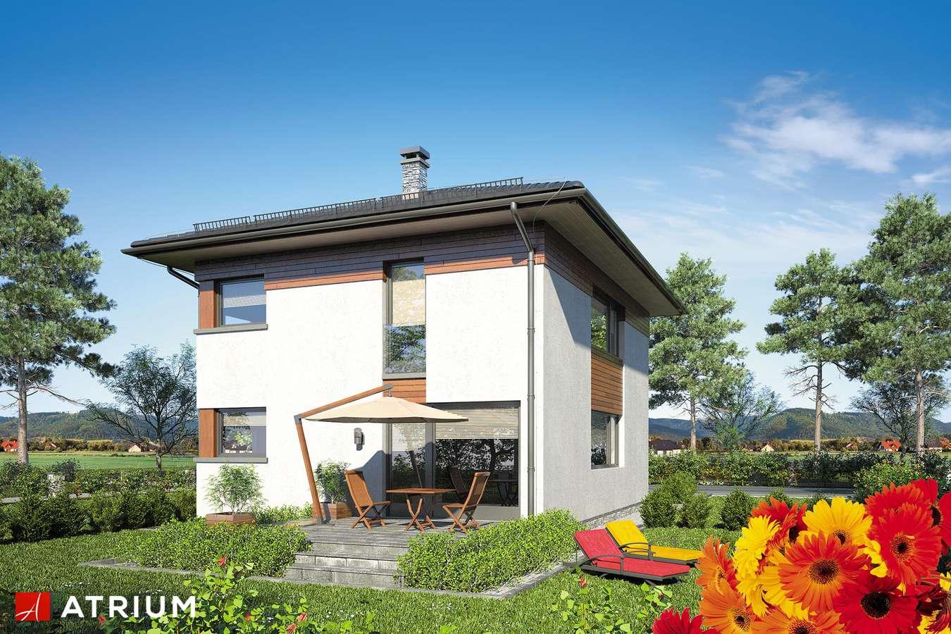 Projekty domów - Projekt domu piętrowego MILANO IV - wizualizacja 2