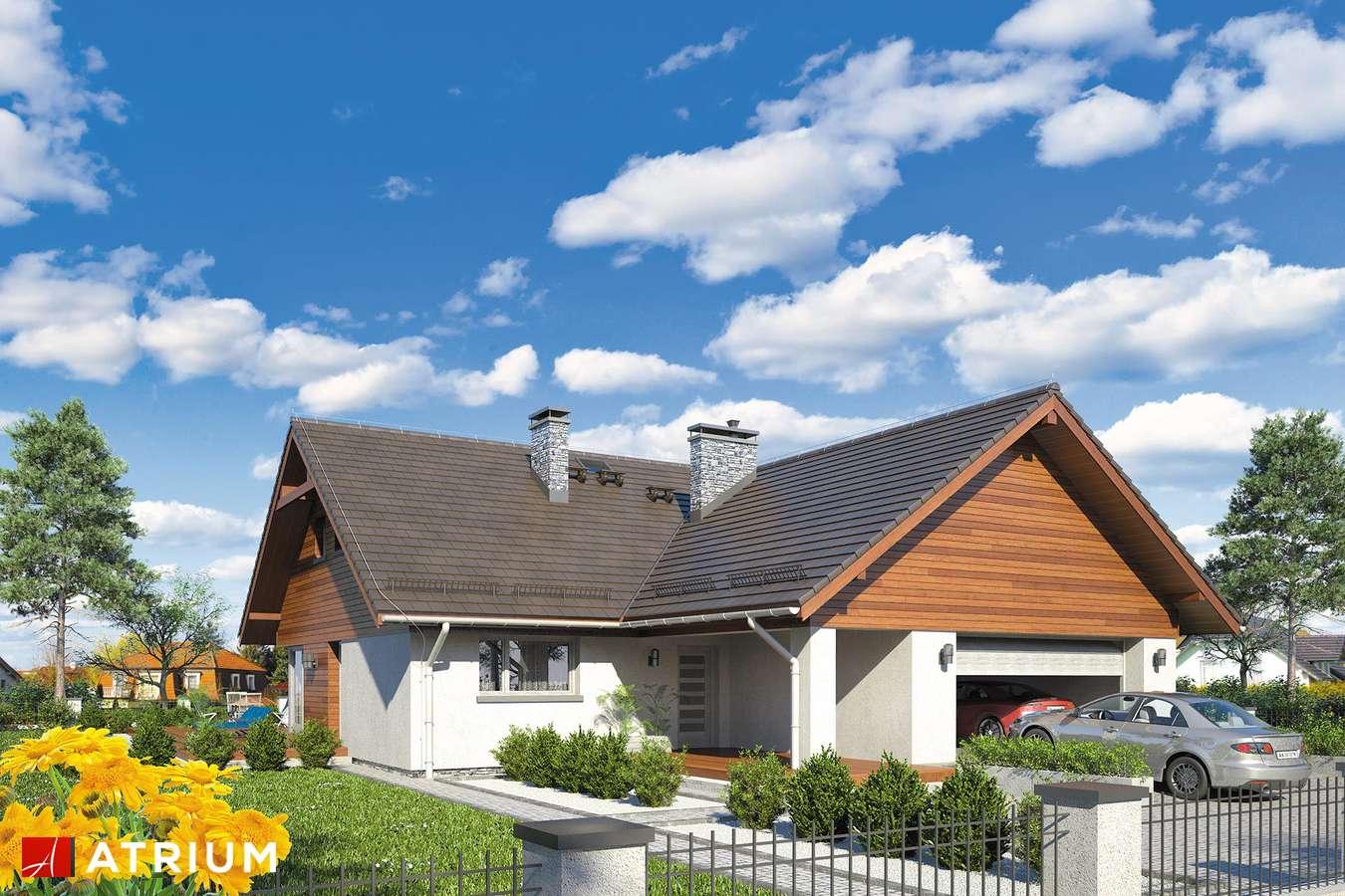 Projekty domów - Projekt domu z poddaszem OXFORD III - wizualizacja 1