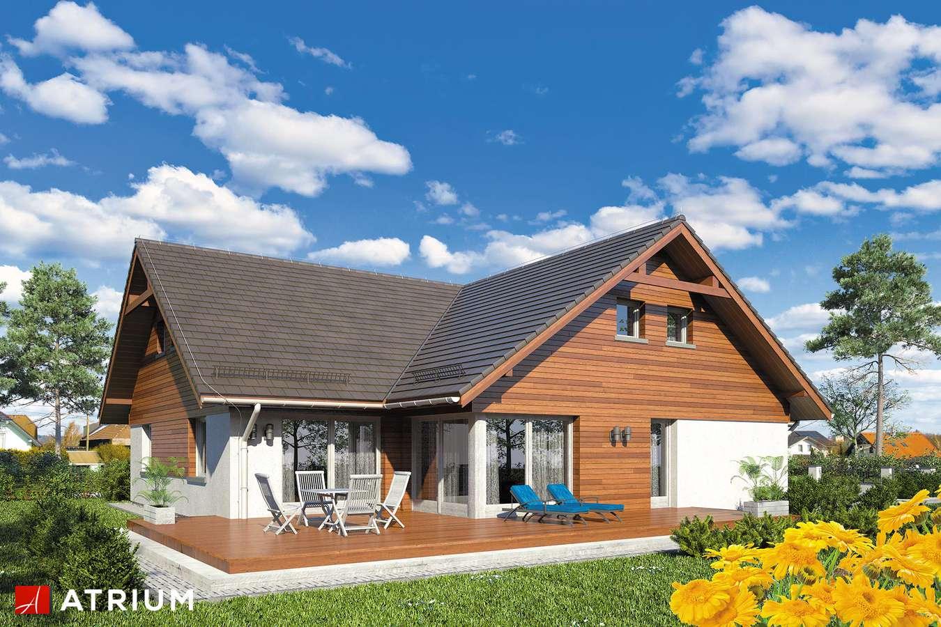 Projekty domów - Projekt domu z poddaszem OXFORD III - wizualizacja 2