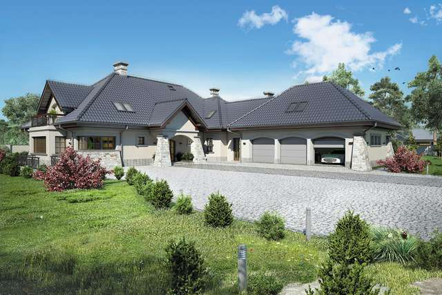 Projekt domu Willa Panorama II