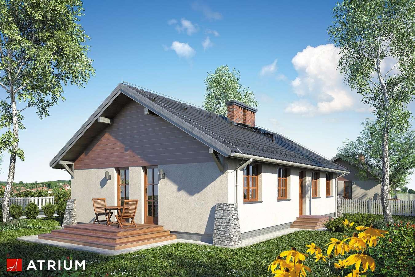 Projekty domów - Projekt domu parterowego ŚWIT SP - wizualizacja 2