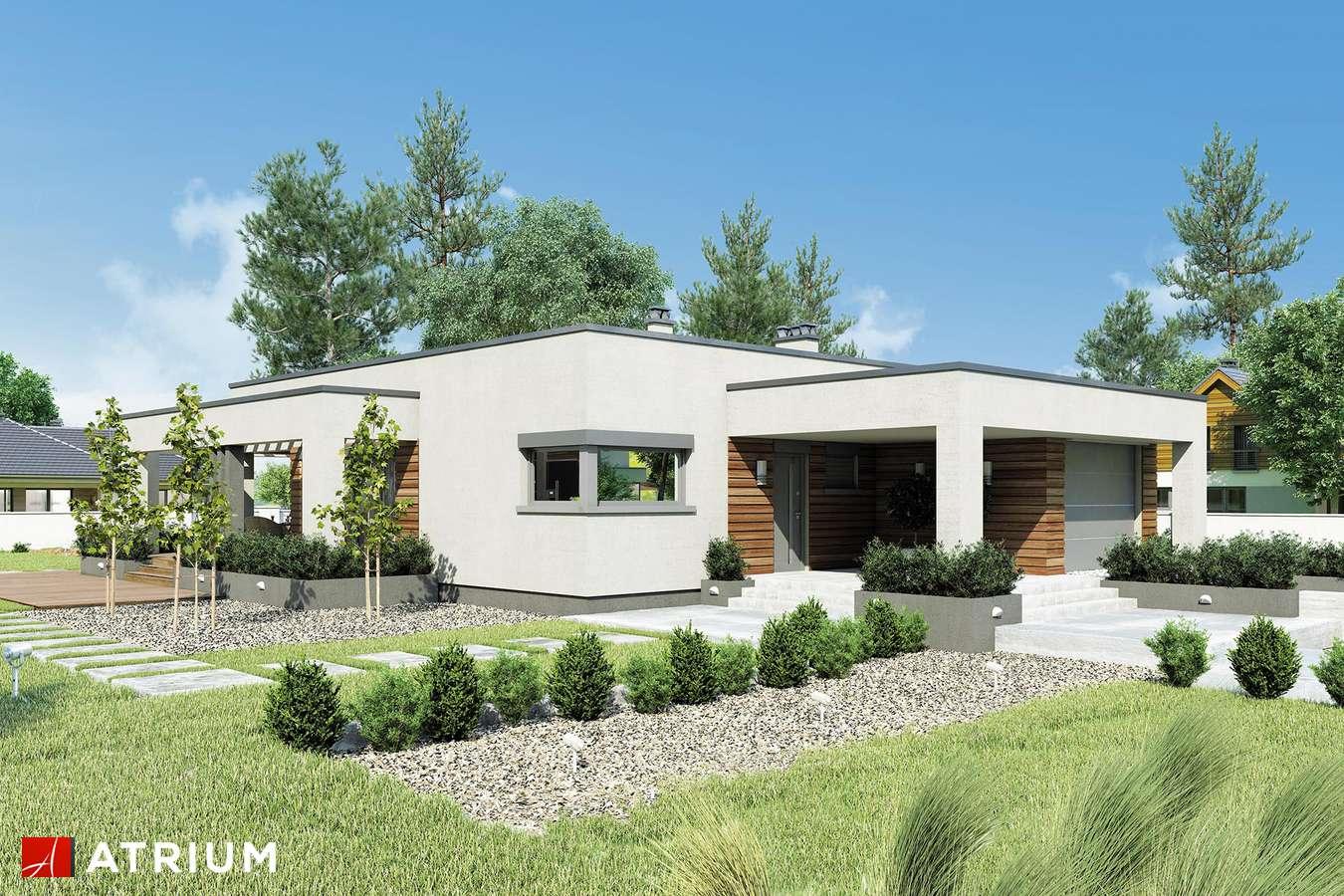 Projekty domów - Projekt domu parterowego SARDYNIA II - wizualizacja 1