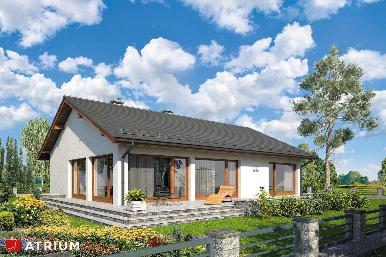 Projekty domów - Projekt domu parterowego SOLEO II - wizualizacja 2
