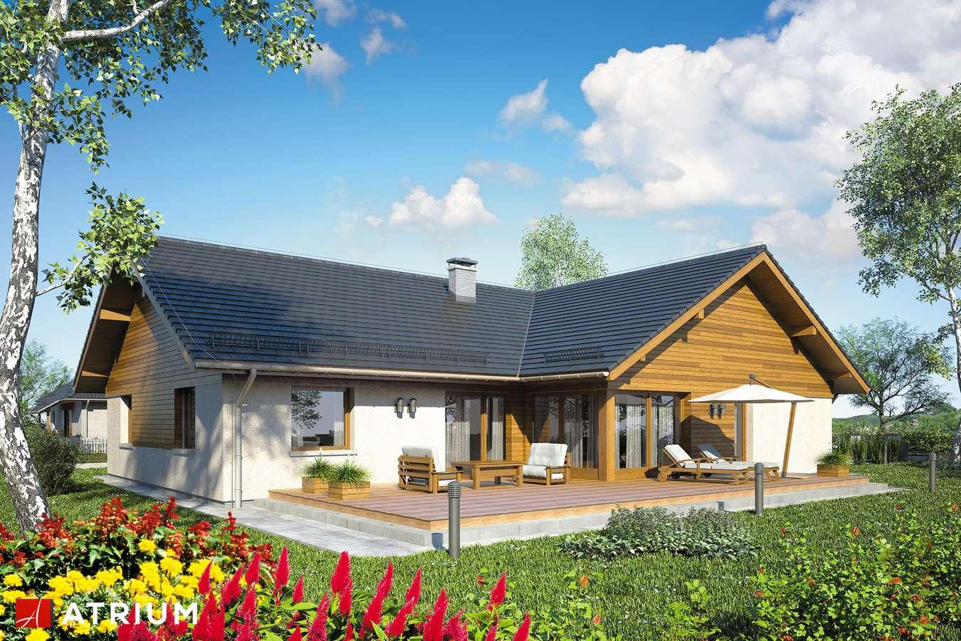 Projekty domów - Projekt domu parterowego WINSTON VIII - wizualizacja 2