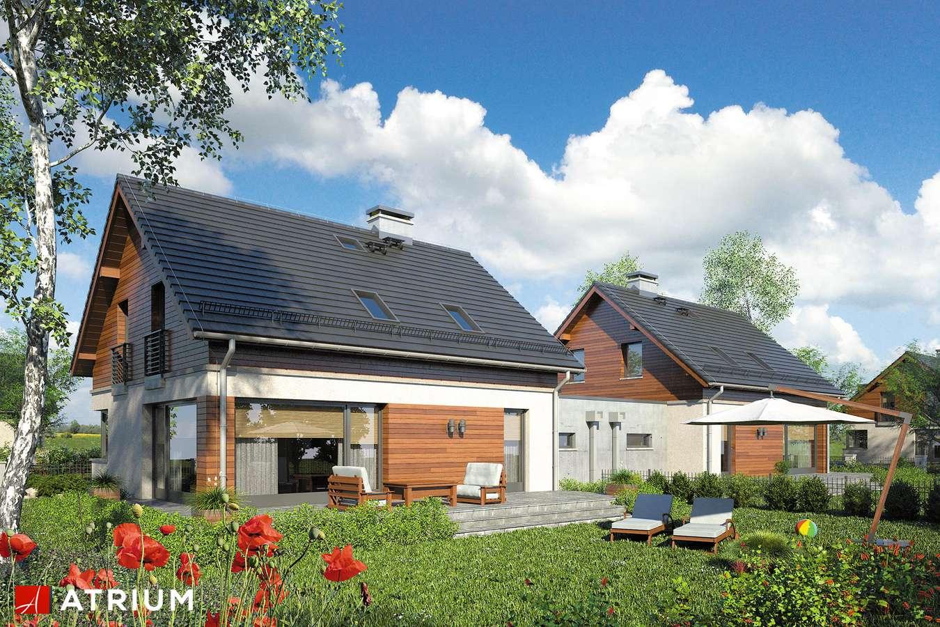 Projekty domów - Projekt domu z poddaszem POLO DUO II - wizualizacja 2