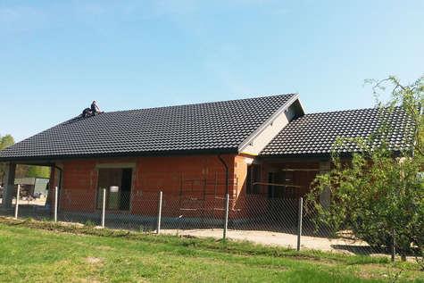Projekt domu Ibis w budowie