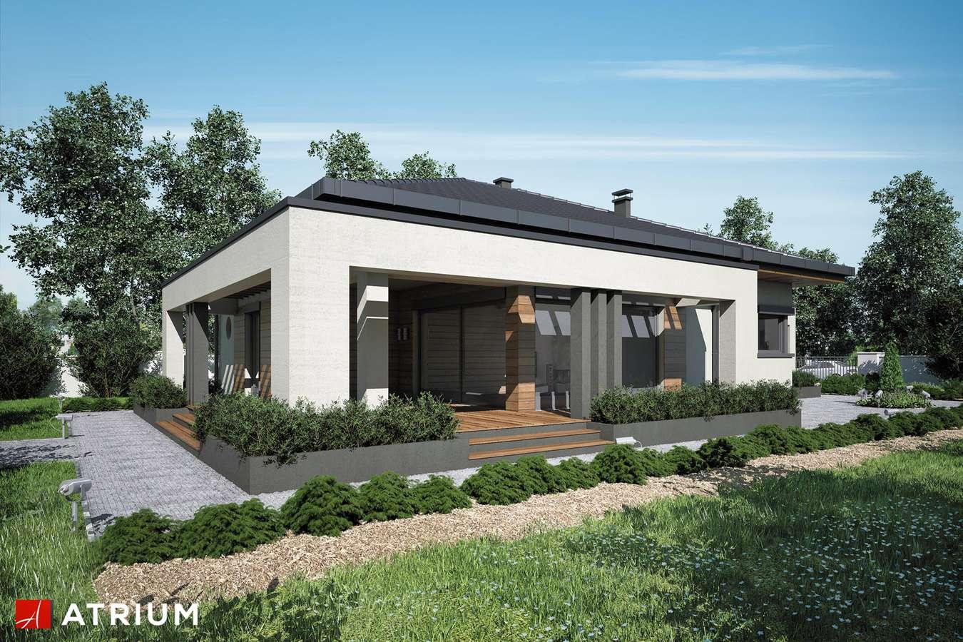 Projekty domów - Projekt domu parterowego SARDYNIA PLUS - wizualizacja 2