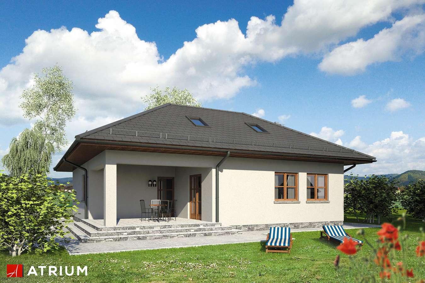 Projekty domów - Projekt domu z poddaszem WAżKA II - wizualizacja 2