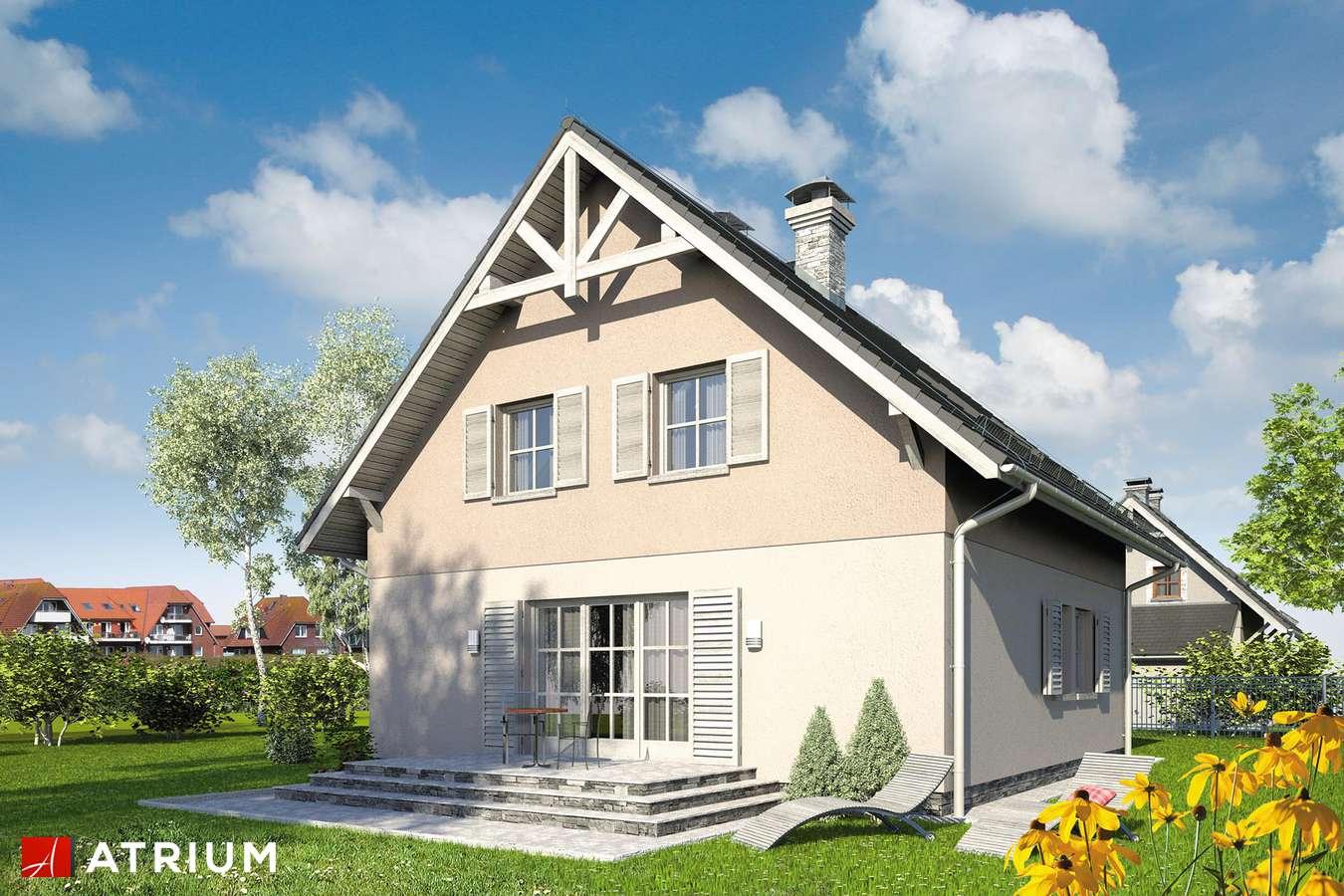 Projekt domu z poddaszem RADOść II - wizualizacja 2