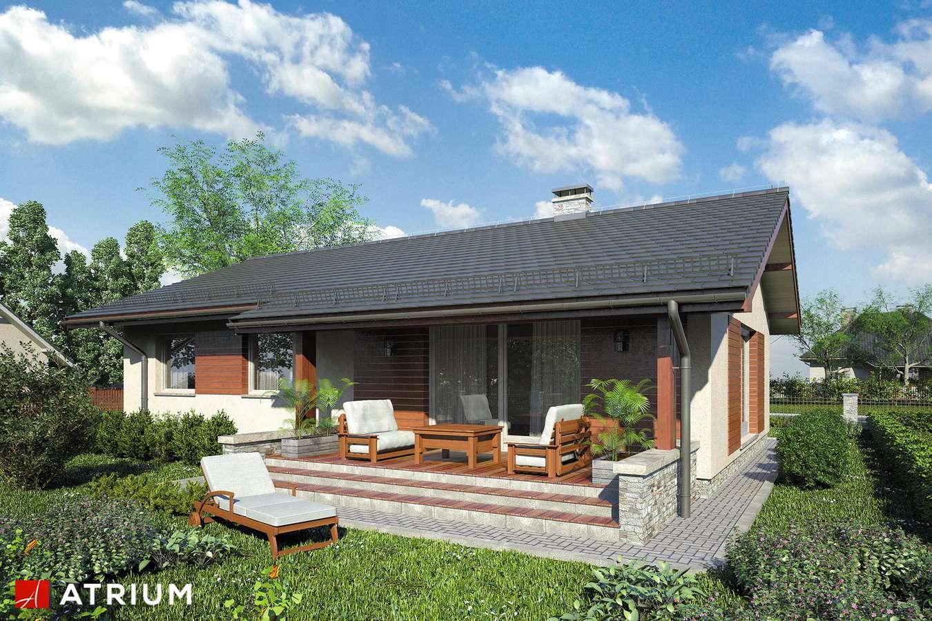 Projekty domów - Projekt domu parterowego NEO VIII - wizualizacja 2