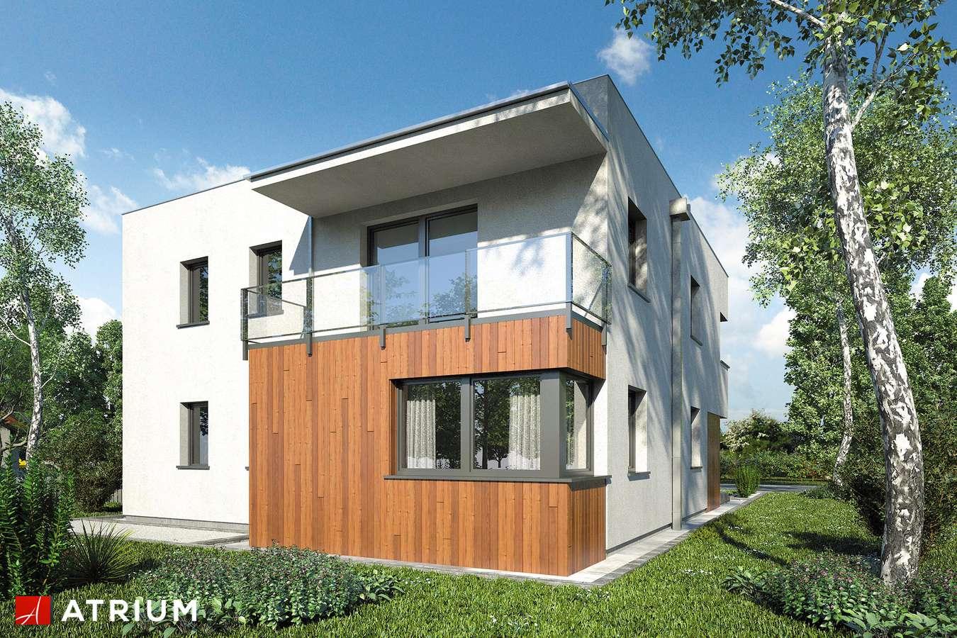 Projekty domów - Projekt domu piętrowego KARIOKA - wizualizacja 2