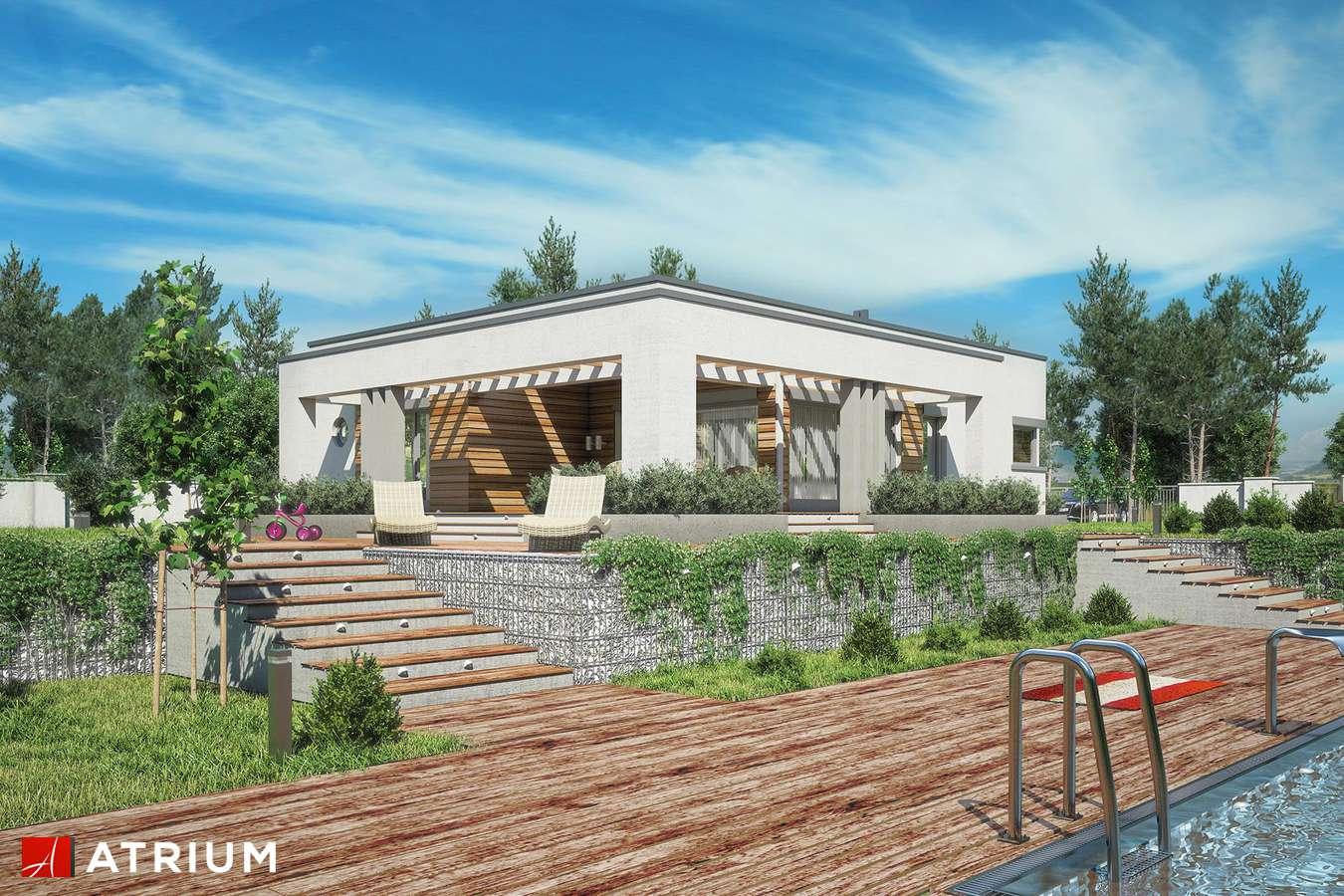 Projekty domów - Projekt domu parterowego SARDYNIA III - wizualizacja 2