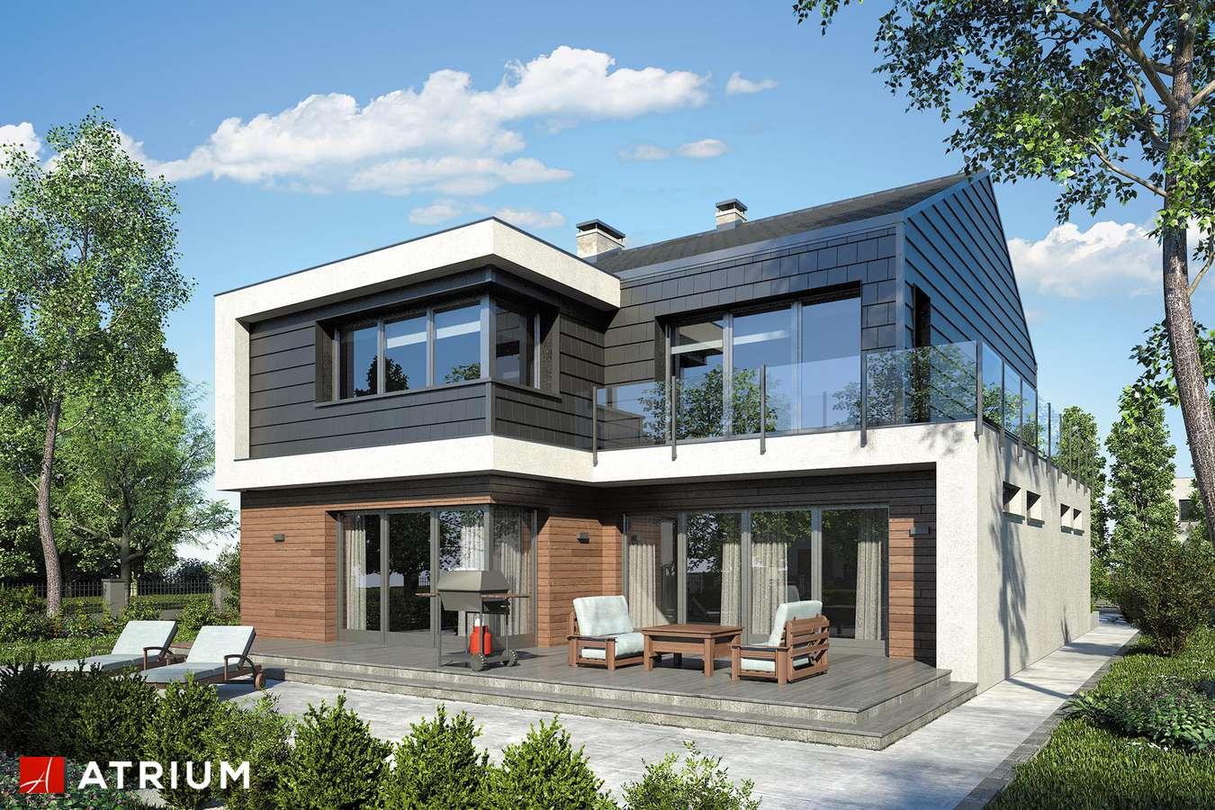Projekty domów - Projekt domu piętrowego NEW HOUSE - wizualizacja 2