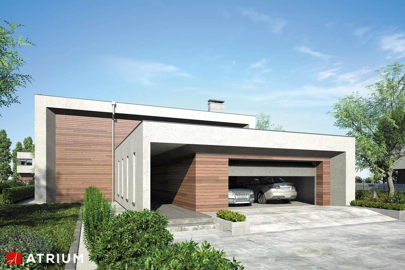 Projekty domów - Projekt domu piętrowego NEW BOX - wizualizacja 1