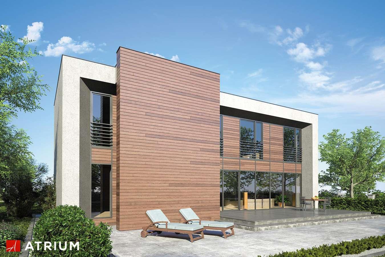 Projekty domów - Projekt domu piętrowego NEW BOX - wizualizacja 2