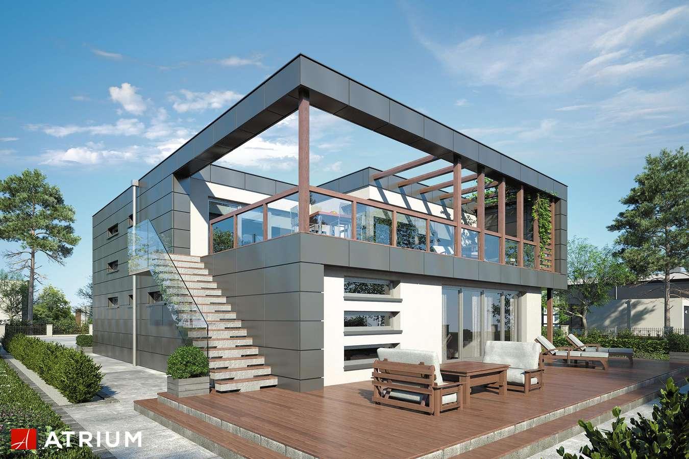 Projekty domów - Projekt domu piętrowego IL PREMIO - wizualizacja 2