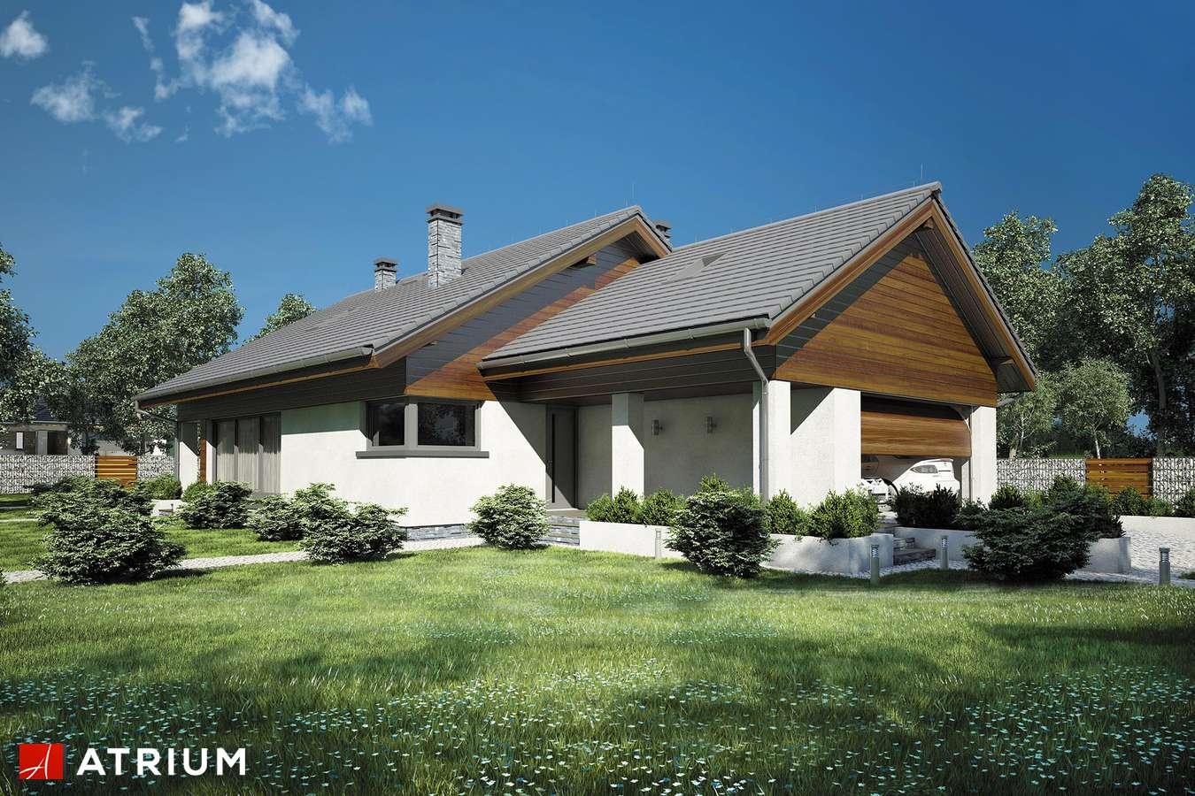 Projekt domu z poddaszem MERLIN IV - wizualizacja 1