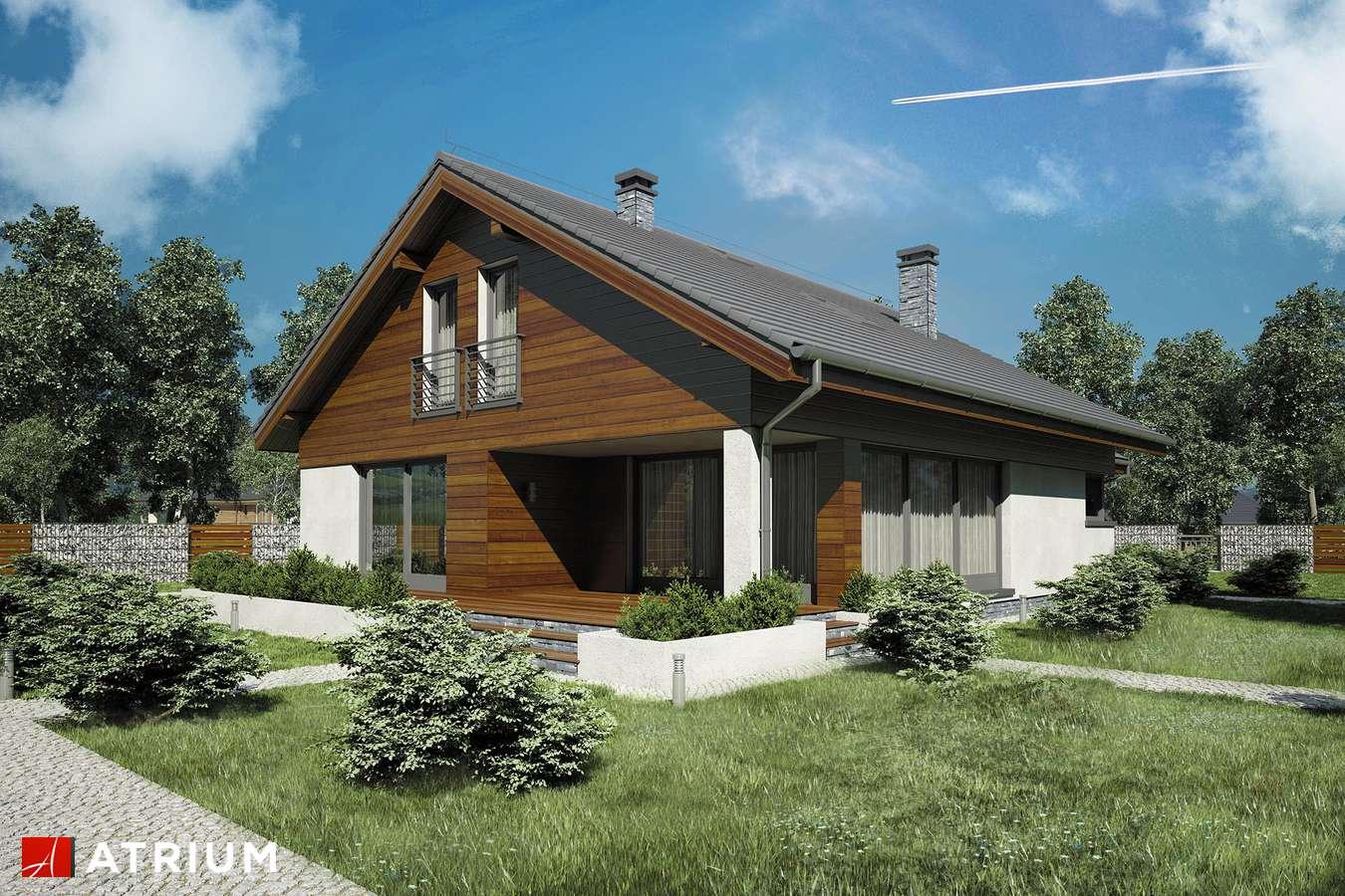 Projekt domu z poddaszem MERLIN IV - wizualizacja 2