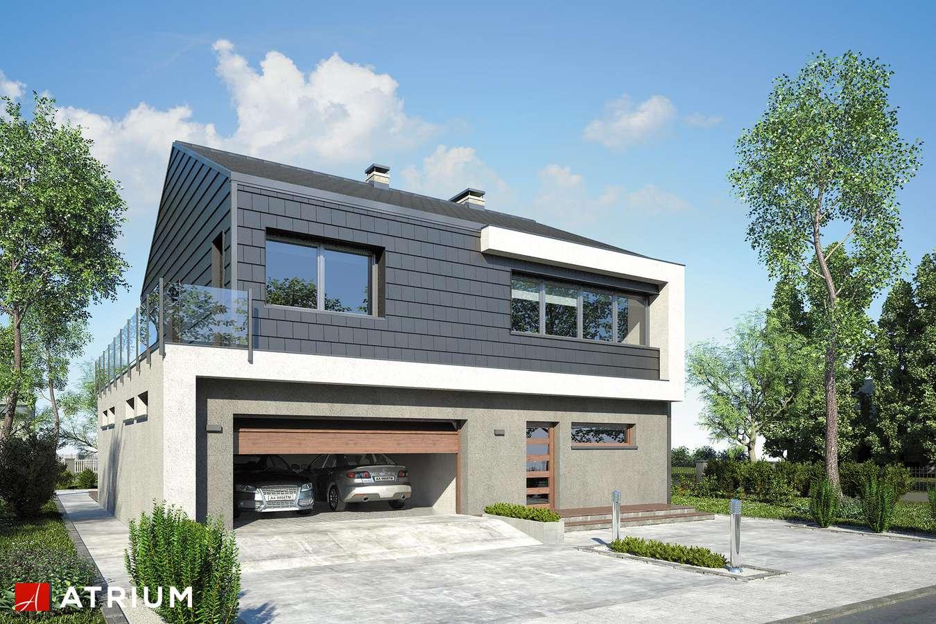 Projekty domów - Projekt domu piętrowego NEW HOUSE II - wizualizacja 2