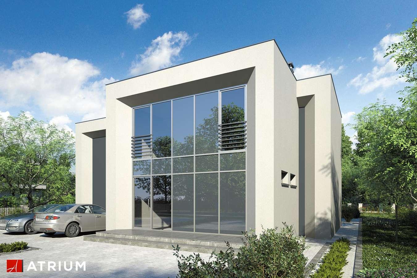 Projekt domu piętrowego NEW BOX III - wizualizacja 1