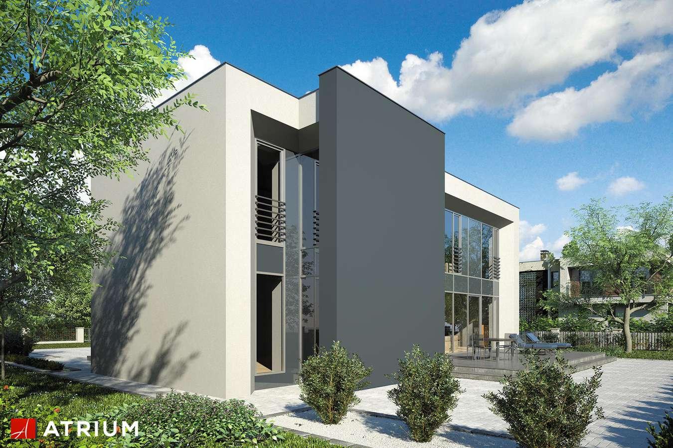 Projekt domu piętrowego NEW BOX III - wizualizacja 2