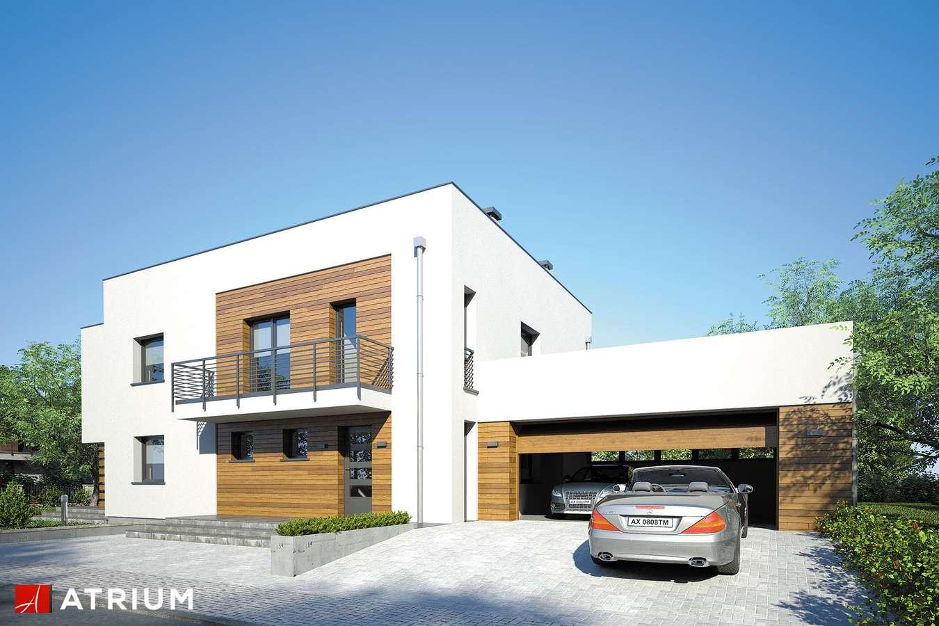 Projekty domów - Projekt domu piętrowego SENATOR II - wizualizacja 1