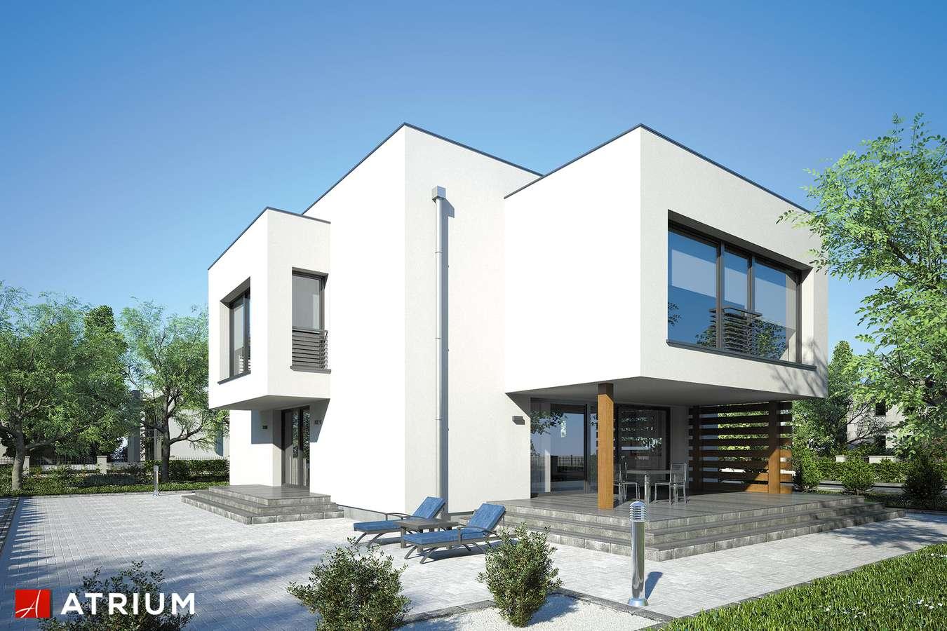 Projekty domów - Projekt domu piętrowego SENATOR II - wizualizacja 2