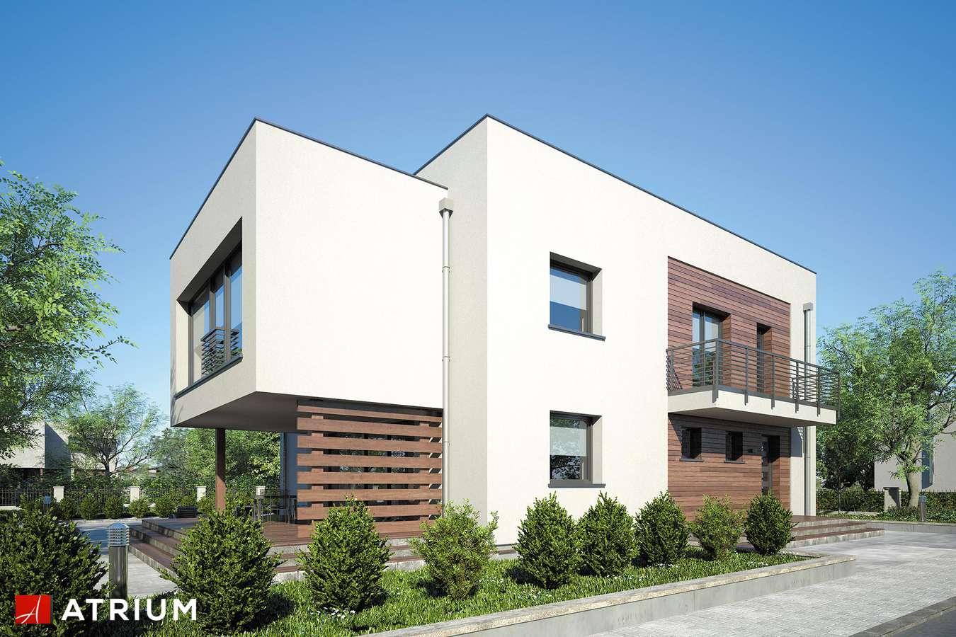 Projekty domów - Projekt domu piętrowego SENATOR - wizualizacja 1