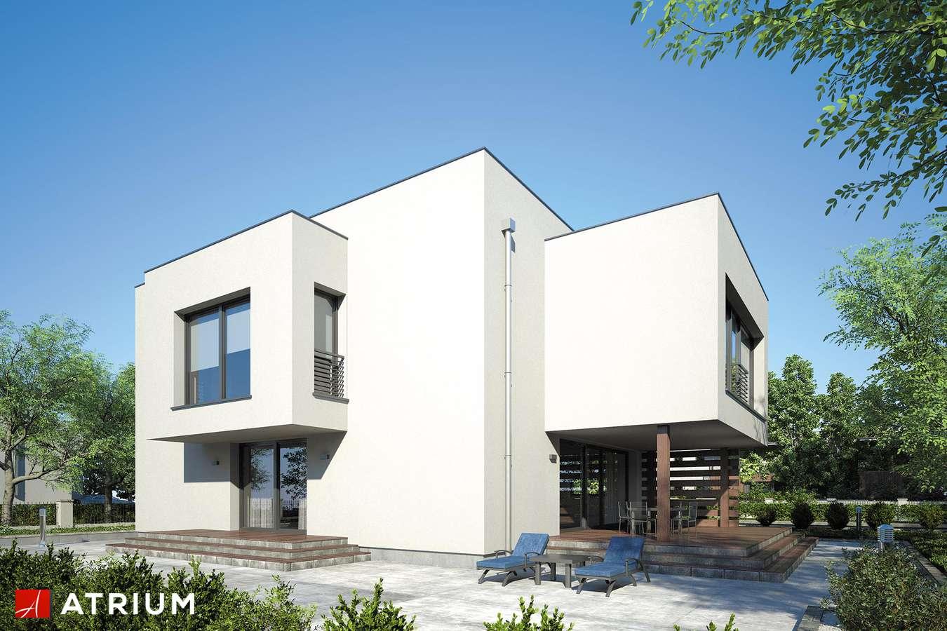 Projekty domów - Projekt domu piętrowego SENATOR - wizualizacja 2