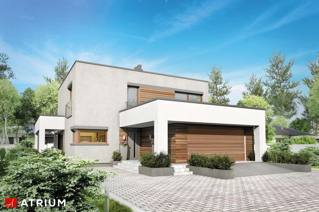 Projekty domów - Projekt domu piętrowego KALABRIA - wizualizacja 1