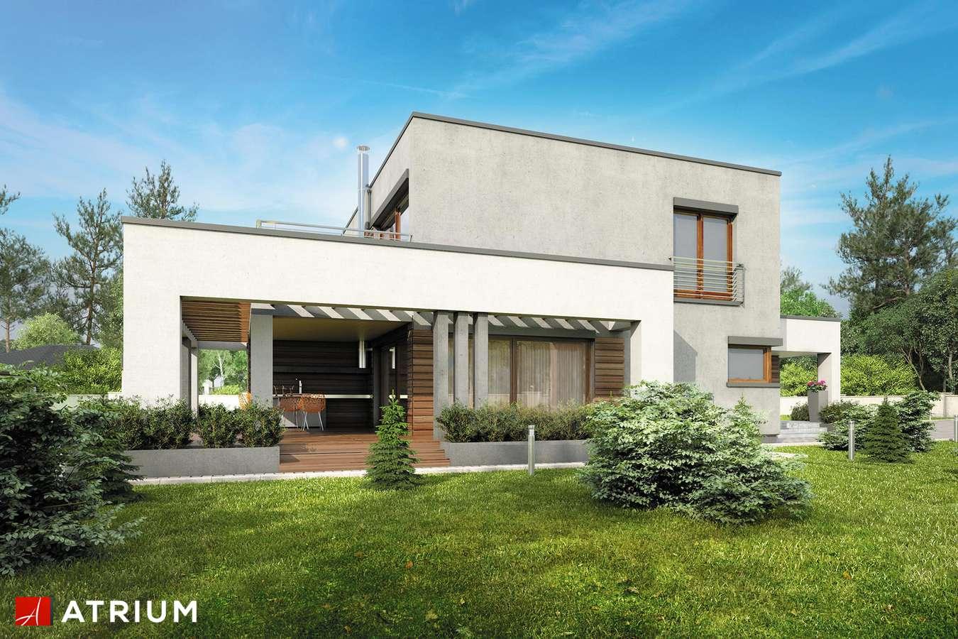 Projekty domów - Projekt domu piętrowego KALABRIA - wizualizacja 2