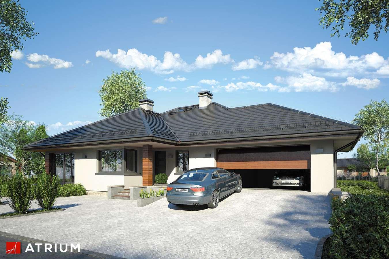 Projekty domów - Projekt domu parterowego SATURN IV - wizualizacja 1