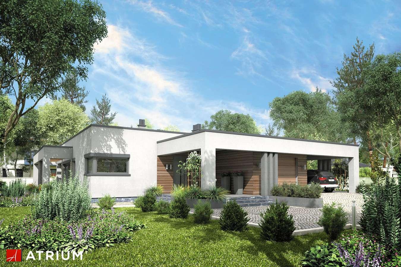 Projekt domu parterowego SARDYNIA VI - wizualizacja 1