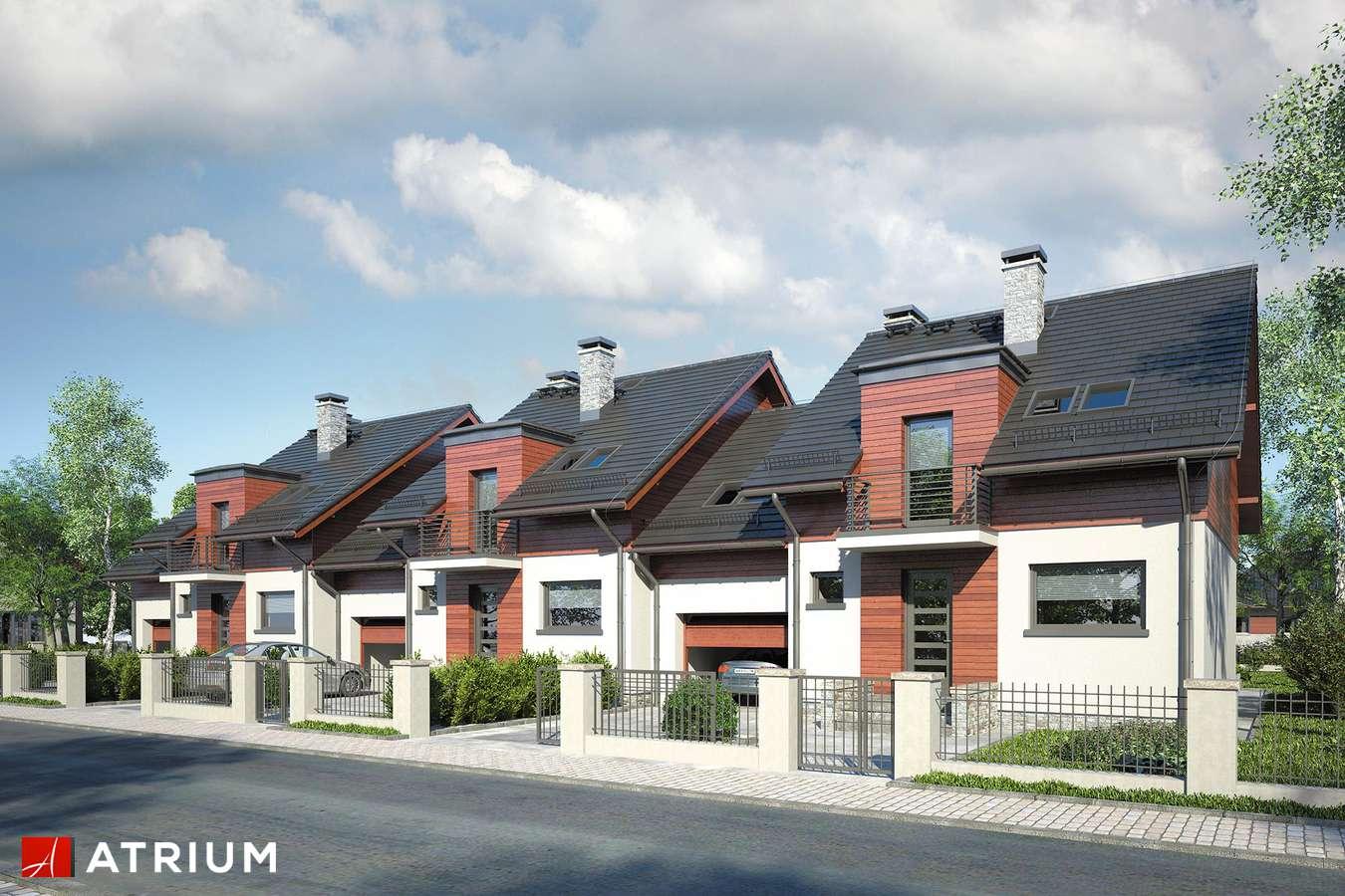 Projekty domów - Projekt domu z poddaszem FOKSTROT MULTI II - wizualizacja 1