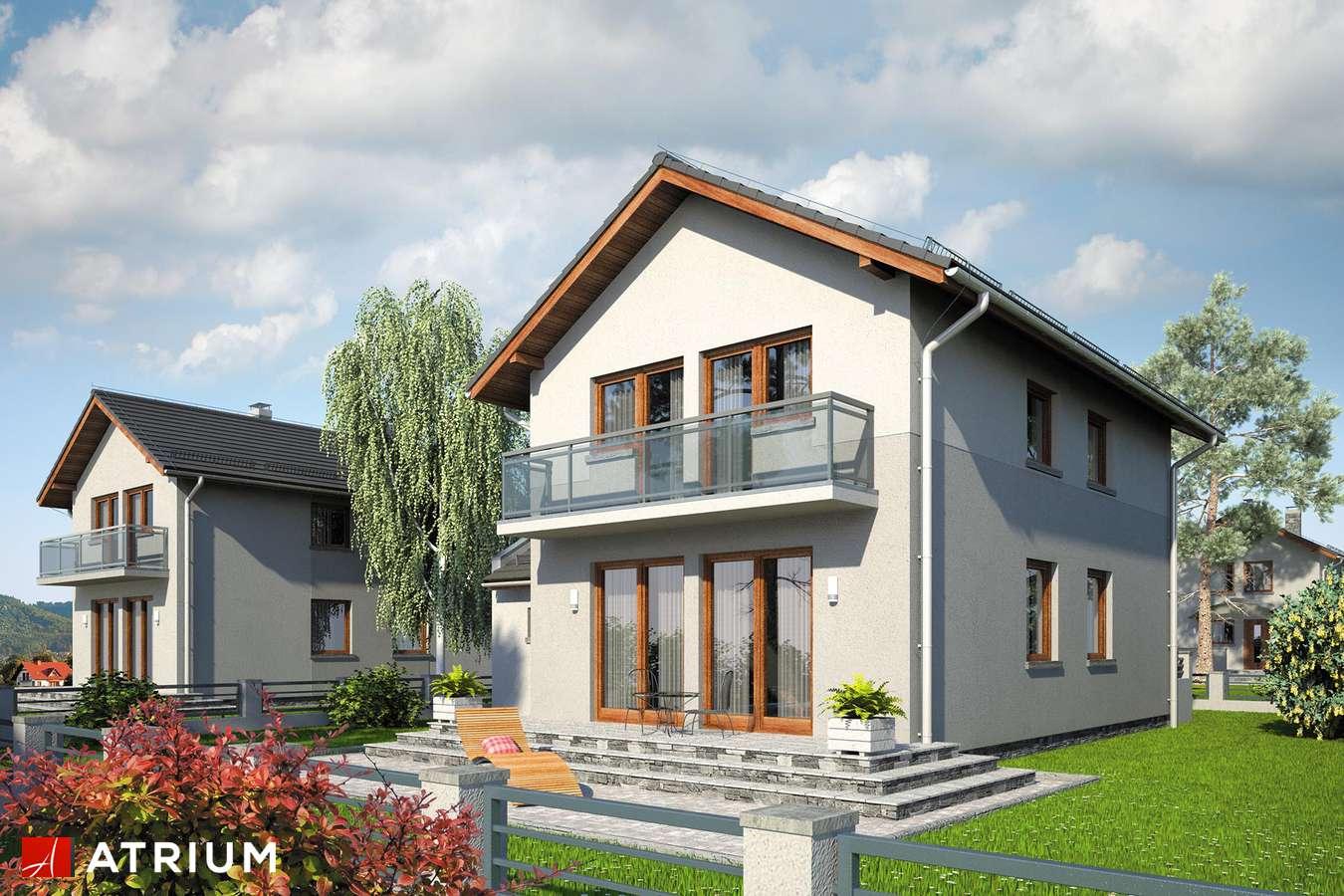 Projekty domów - Projekt domu piętrowego KAMYCZEK - wizualizacja 2
