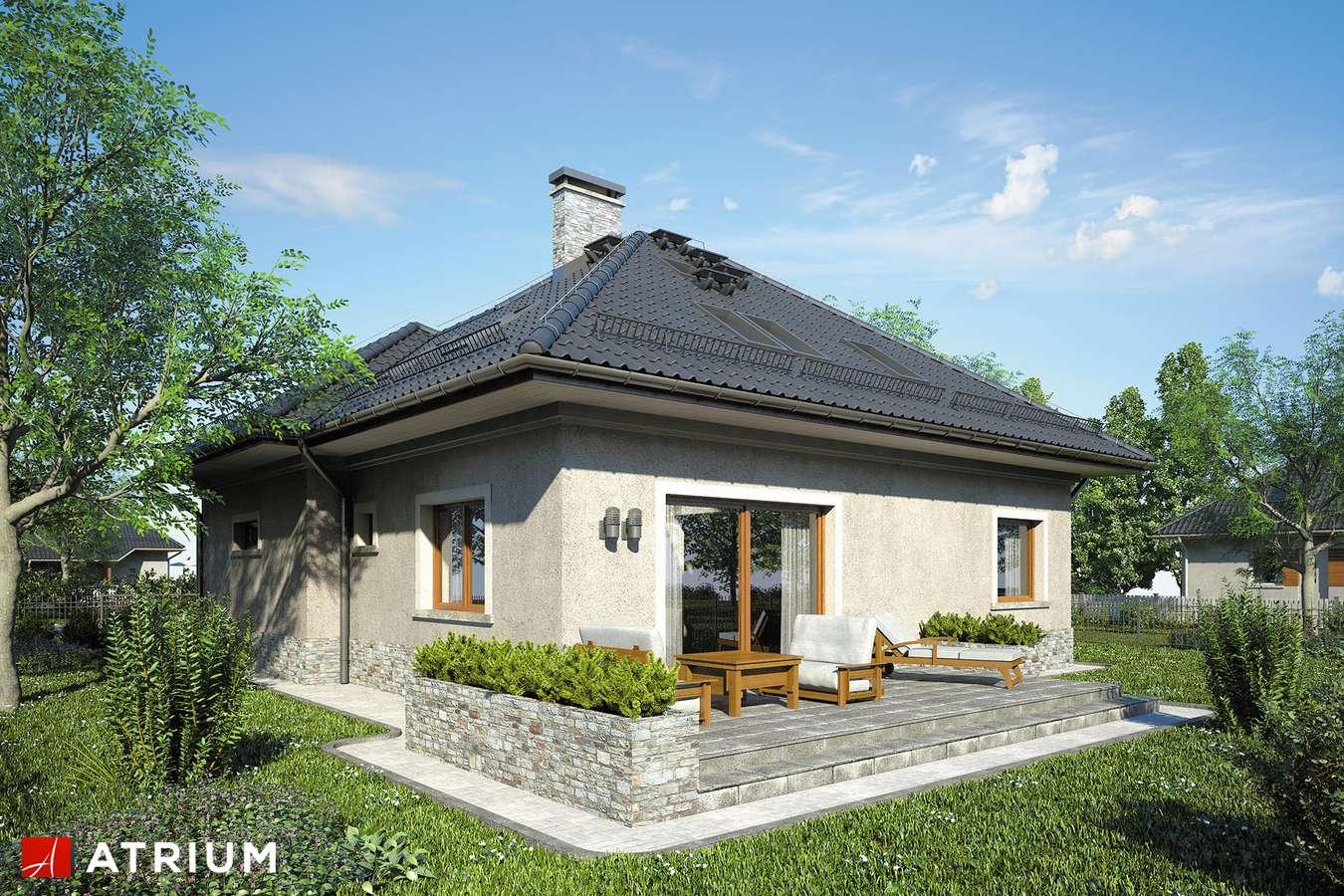 Projekty domów - Projekt domu z poddaszem FADO IV - wizualizacja 2