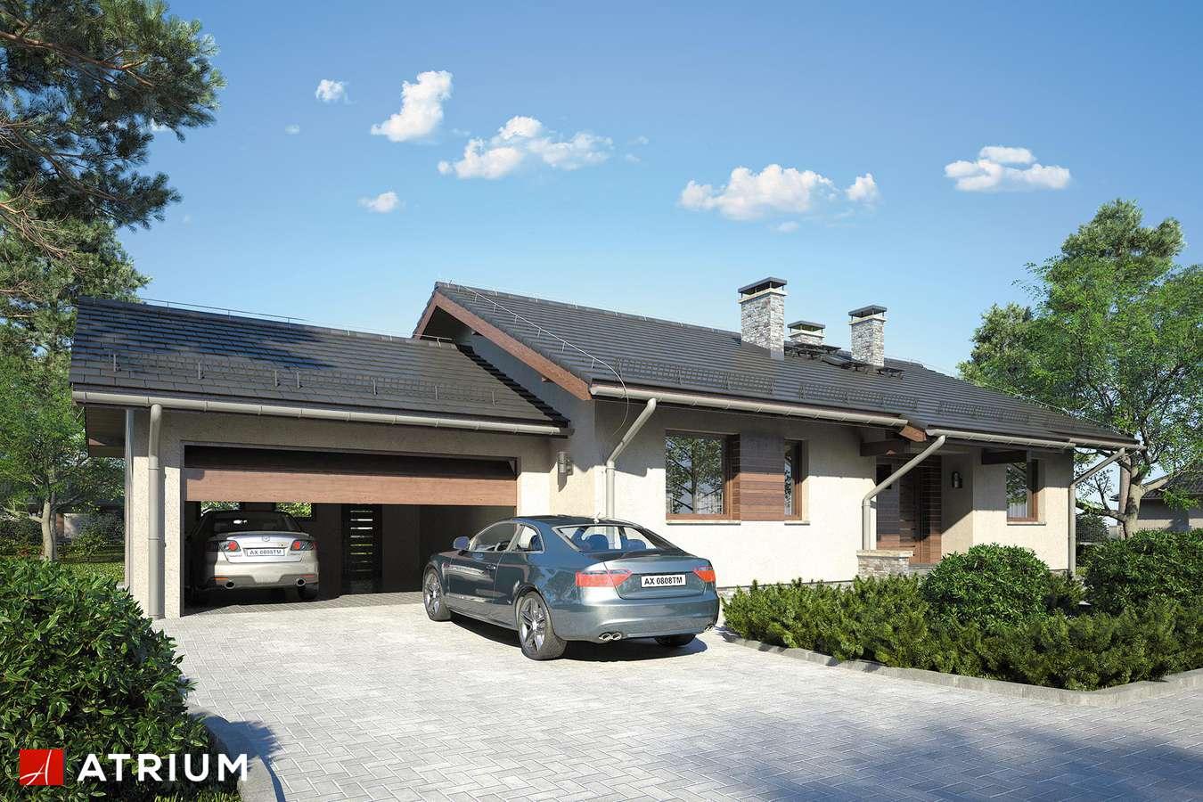 Projekty domów - Projekt domu parterowego NEO IX - wizualizacja 1