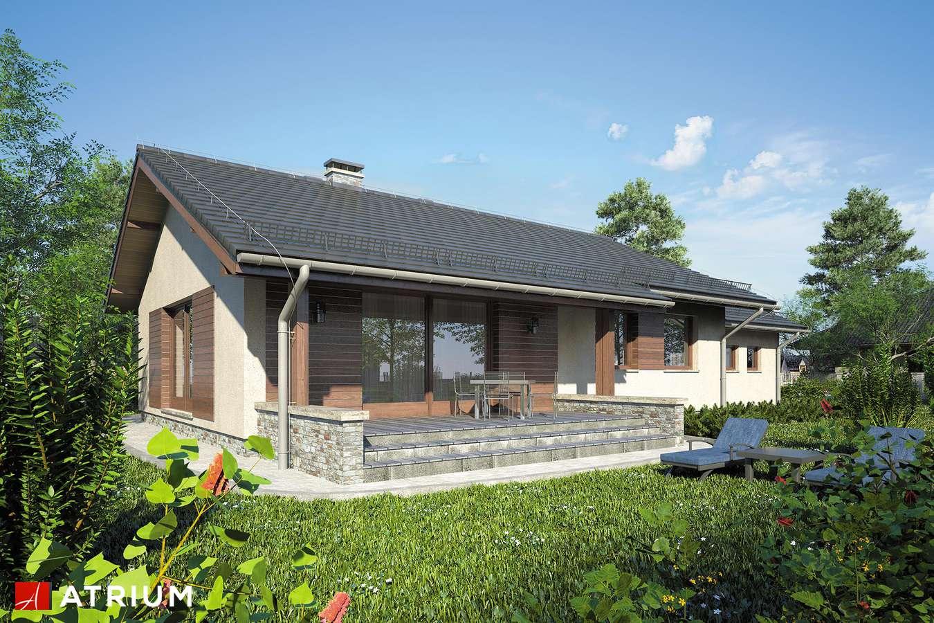 Projekty domów - Projekt domu parterowego NEO IX - wizualizacja 2