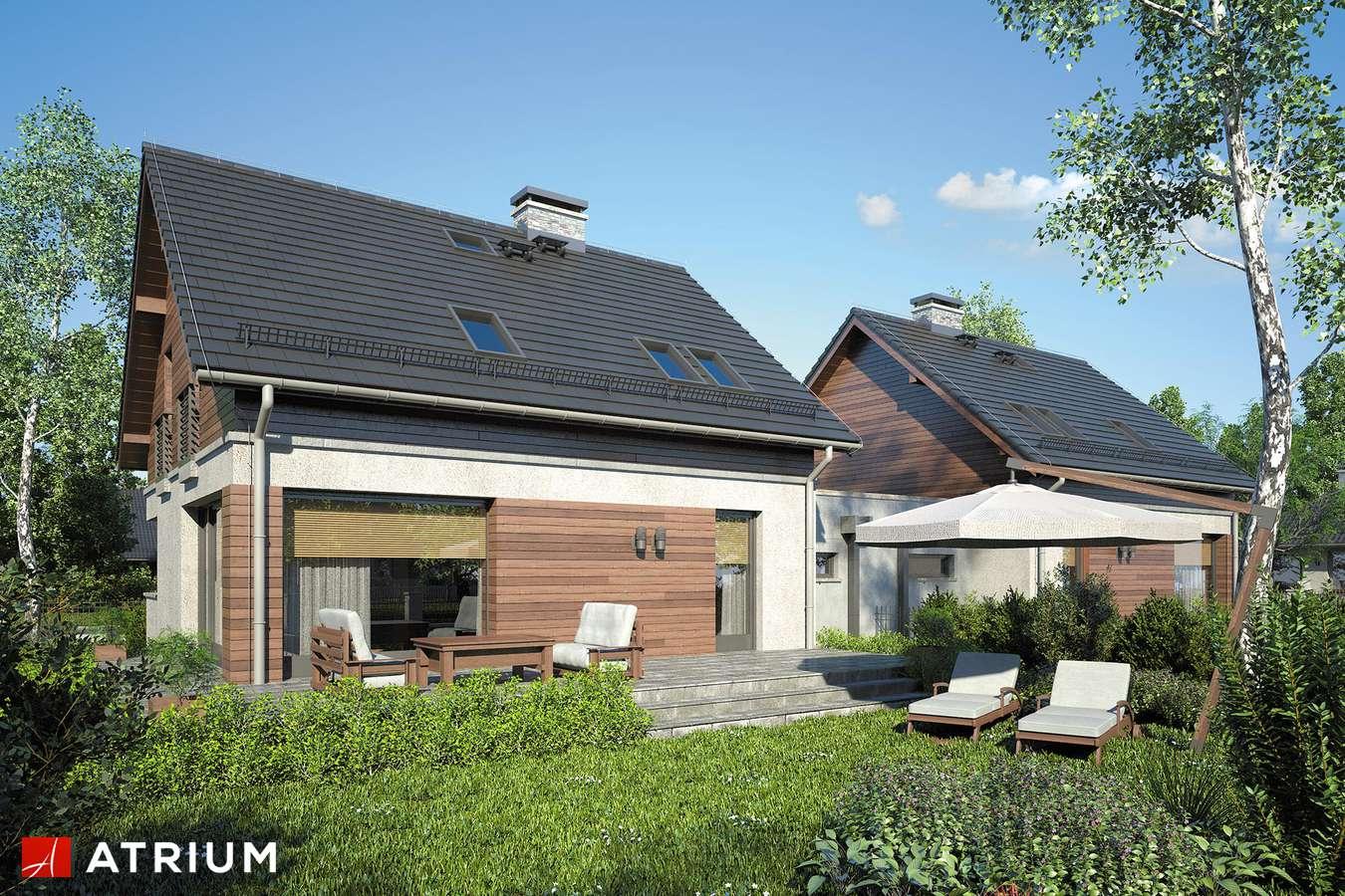 Projekty domów - Projekt domu z poddaszem POLO DUO IV - wizualizacja 2